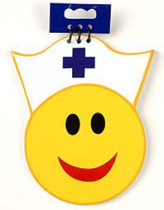 Happy Nurse note pad