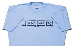 I Teach Reading T-Shirt