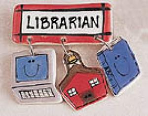 Librarians Bar Pin