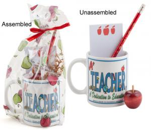 Mug-Pencil-Apple Gift Set