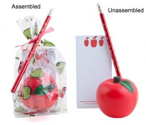 Stress Apple Gift Set