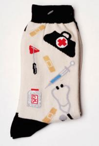 Nurse Medical Design Socks