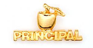 Golden Apple Principal Lapel Pin