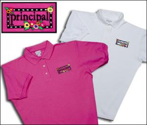 Principal  Flower Polo Shirt