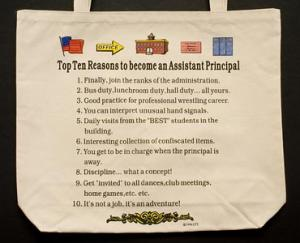 Assistant Principal Top 10 Totebag