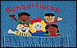 School Nurse Denim Shirt