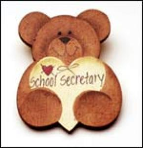 Secretary Bear Pin