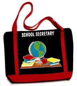 School Secretary Totebag