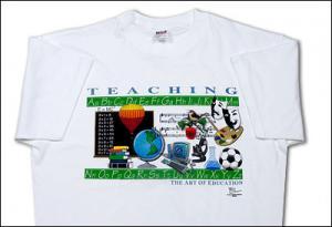 Teaching The Art Of Education T-Shirt