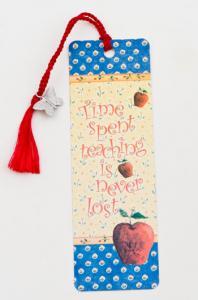 Time Spent Teaching Bookmark