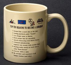 Librarian Top 10 Reasons Mug