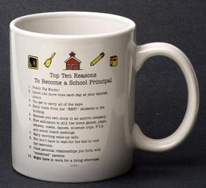 School Principal Top 10 Reasons Mug