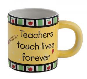 Teachers Touch Lives Forever Mug